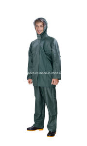 Waterproof Simple Color Rainsuit/ Rainwear pictures & photos