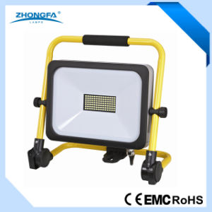 Portable IP54 50W LED Floodlight with Ce RoHS EMC pictures & photos