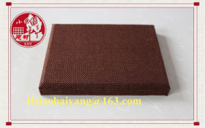 Excellent Quality Latest Cloth Leather Acoustic Panel pictures & photos