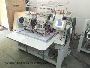 Computerized Quilting Embroidery Machine for Cap T-Shirt Flat Embroidery Machinery pictures & photos