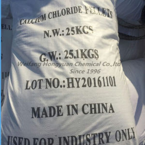 Dihydrate Calcium Chloride Granular for Oil /Ice Melting (74% 77% 10035-04-8) pictures & photos