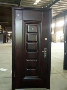 Steel Door with Second Lock (S002) pictures & photos