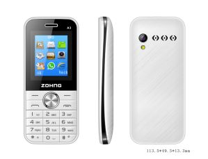 Best Price 1.8 Inch Feature Phone Wholesale Dual SIM Mobile Phone A3 pictures & photos
