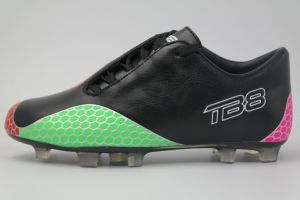 New Design Soccer Cleats Boots Football Turf Sports Shoes (AK9068) pictures & photos