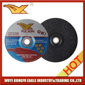 "7"" Carbide Aluminum Oxide Depressed Center Grinding Wheel pictures & photos"