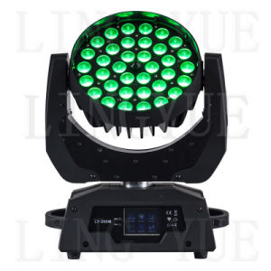 36PCS 6in1 Zoom Stage Beam LED Moving Head Wash pictures & photos