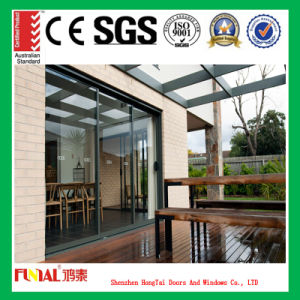 Luxury Aluminum Glass Door Used for Balcony pictures & photos
