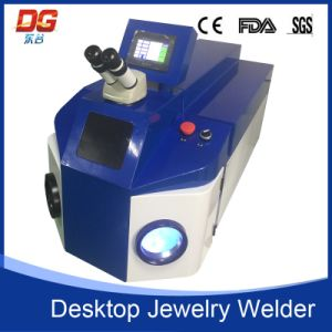 Hot Saled Used Jewelry Spot Welding Machine with CNC Certificates pictures & photos