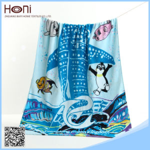 Best Price High Quality Printed Cartoon Bath Towel Wholesale pictures & photos