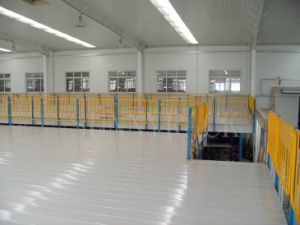 Steel Structure Mezzanine Floor with Steel Decking pictures & photos