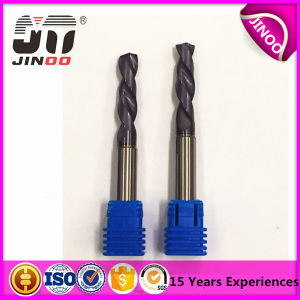 Jinoo Manufacturer Standard 2flute Solid Carbide Twist Drill Bit pictures & photos