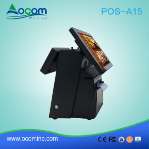 POS-A15 Electronic Cash Register/ POS PC Touch Screen All in One with Printer pictures & photos