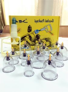China New Product Hijama Cups Vacuum Cupping Set pictures & photos