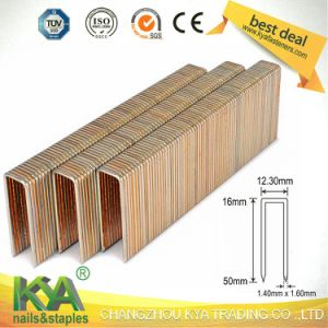Max 9t16-9t50 Series Heavy Wire Staples for Construction pictures & photos