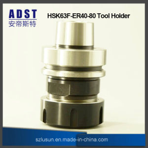 Hsk63f-Er40-80 Collet Chuck Tool Holder for CNC Machine pictures & photos