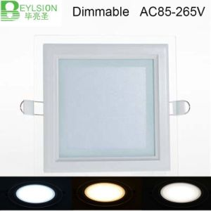 9W Square Glass Panel LED Lightings pictures & photos