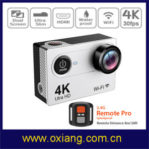 4k WiFi Sport Camera 170 Degree Sport Action Camera pictures & photos