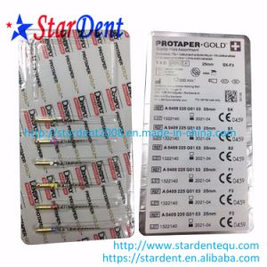 Dental Dentsply Protaper Gold Endodontic Files of Hospital Medical Lab Surgical Diagnostic Equipment pictures & photos