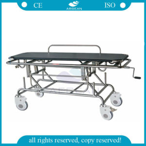 AG-HS014 Hot Selling Special for Wounded Manual Hospital Transfer Stretcher pictures & photos