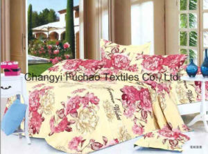 Poly Bedding Set for Classic 6-Piece Modern Feather Home Textile pictures & photos