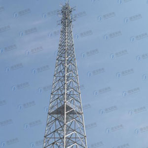 HDG Tubular Communication Lattice Tower