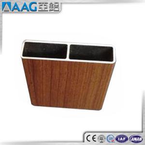 Wood Grain Aluminium Profiles pictures & photos