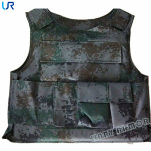 Nij Iia-Iiia Military Camouflage Kevlar Bulletproof Vest pictures & photos
