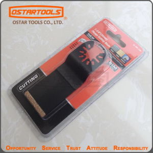 Carbide Grout Oscillating Multi Functional Saw Blade (1-1/4 Inch) pictures & photos