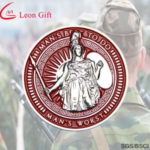 Fatory Customied Metal Military Sovenir Challenge Coin pictures & photos