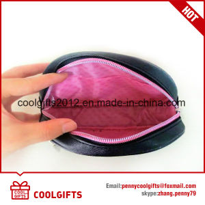 Fashion Shell Shape PU Leather Premium Cosmetic Bag for Ladies pictures & photos