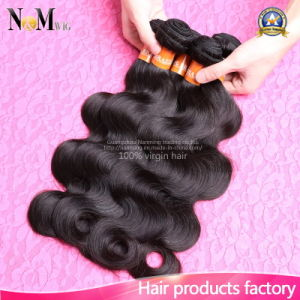 Human Hair Weave, Remy Hair Weft, 100 Virgin Brazilian Hair pictures & photos