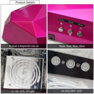 High Quality Double UV Nail Dryer for Selling pictures & photos