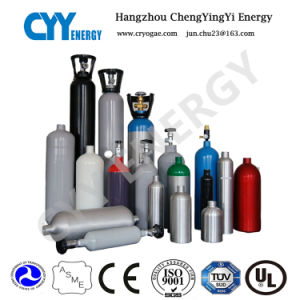 Hot Sale Aluminium Oxygen/Nitrogen Gas Cylinders pictures & photos