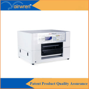 Desktop Digital T-Shirt Printing Machine A3 Textile Printer with White Ink pictures & photos