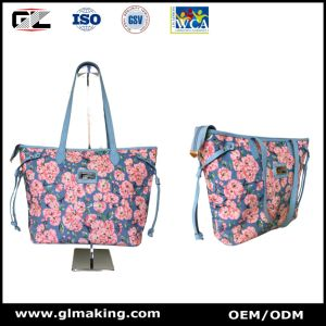 Fashion Flower Tote Bag & Mini Backpack pictures & photos
