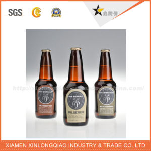 Transparent Glass Bottle Sticker Label Printing Adhesive Label pictures & photos