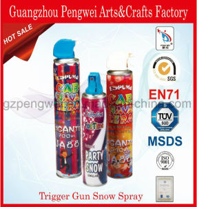High-Quality Trigger-Gun Party Foam Snow for Decoration pictures & photos