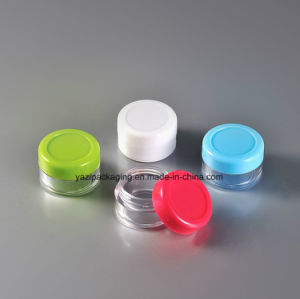 6g Cosmetic Plastic Jar Bottle Containet Jar pictures & photos