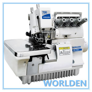 Wd-700-5 Super High-Speed Five Thread Overlock Sewing Machine pictures & photos