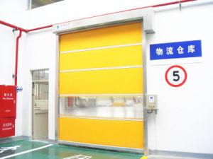 High Speed Roller Door PVC Fabric Rapid Shutter Door pictures & photos