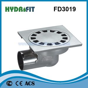 Zinc Alloy Shower Floor Drain / Floor Drainer (FD3019) pictures & photos