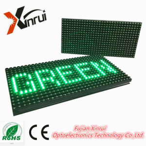 P10 Outdoor Green Single Color Text LED Module Text Display/ Screen pictures & photos