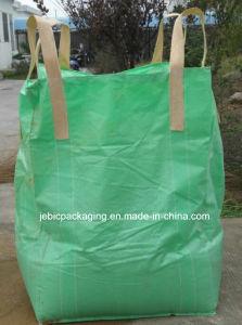 Green Fabric Cross Corner FIBC Bulk Bag pictures & photos