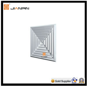 Hot Sale Aluminium Round Ceiling Air Diffuser with Butterfly Damper pictures & photos