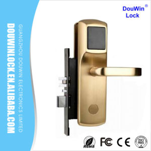 Classical Luxurious Intelligent Door Mortise Hotel Lock pictures & photos