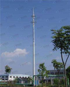 Durable Steel Frame Telecom Monopole Tower