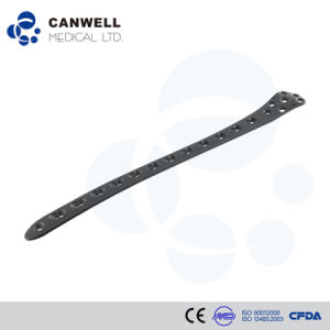 Canwell Distal Lateral Femoral Locking Plate Canllp Orthopaedic Implants Large Fragment Locking Plate Titanium Plate pictures & photos