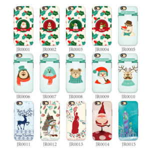 Mobile Phone Back Cover Christmas TPU+PC Case for iPhone7 7plus pictures & photos