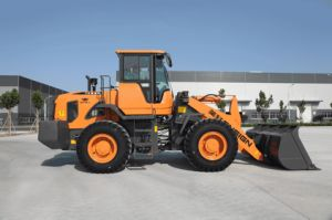 3 Ton Wheel Loader Front End Loader Ensign Wheel Loader Yx635 with Mechanical Control or Joystick pictures & photos
