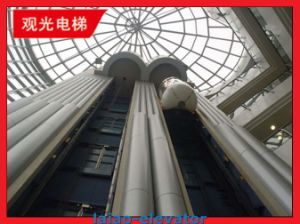 Gearless Motor with Vvvf Control Panoramic Elevator Lift pictures & photos